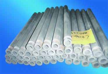 NSiC Ceramic Thermowell Using For Molten Aluminum