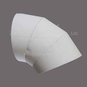 Wear-resistant 92 alumina ceramic pipe for coal washery